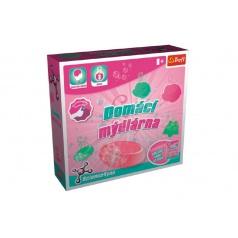 Trefl Domácí mýdlárna vědecká hra 3 pokusy Science 4 you v krabici 23x22x6cm
