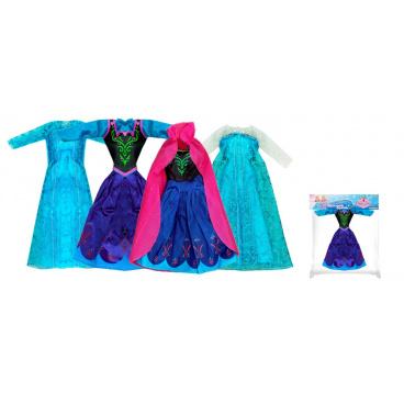 Rappa Oblečení pro panenku zimní království