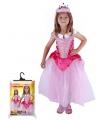 Dětský karnevalový kostým princezna růžová vel. S