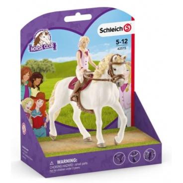 Schleich 42515 Horse Club Blondýnky Sofia a kůň Blossom