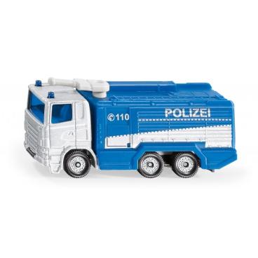 SIKU Blister - Policejní auto s vodní stříkačkou