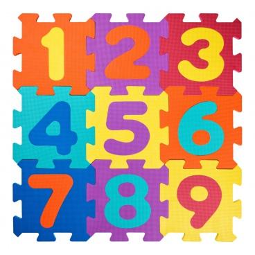 Plastica Pěnové Puzzle Čísla