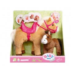 Zapf Creation 822371 Baby Born Interaktivní kůň s hříbátkem