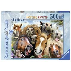 Ravensburger S koňmi 500 dielikov