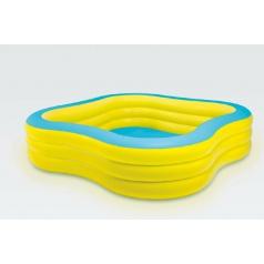 Intex Bazén nafukovací čtvercový 229x229x56cm od 6 let