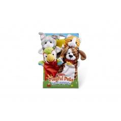 Lowlands Maňušky domáce zvieratká 25cm 4ks na karte v sáčku