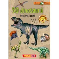 Mindok vzdělávací hra Expedice příroda: 50 dinosaurů