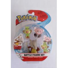 WCT Pokémon figúrky, 3-pack