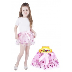 Dětský kostým sukně TUTU s maxi flitry