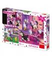 DINO puzzle WD Den s Minnie 3x55D