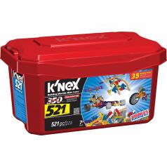 KNEX - Stavebnice zvýhodněné balení 521 ks