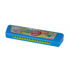 Simba MMW Harmonika modrá 15 cm