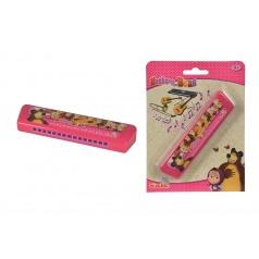 Máša a medvěd Harmonika 15 cm hrající