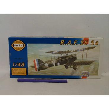 Směr modely plastové R.A.F SE 5a. Scout        1:48