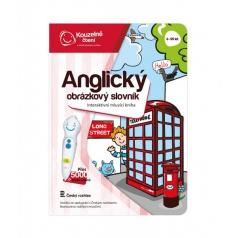 ALBI Kouzelné čtení Kniha Anglický obrázkový slovník
