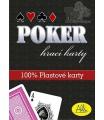 ALBI Poker plastové karty
