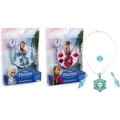 ADC Blackfire Entertainment Frozen Sada bižuterie princezny Anny a Elsy