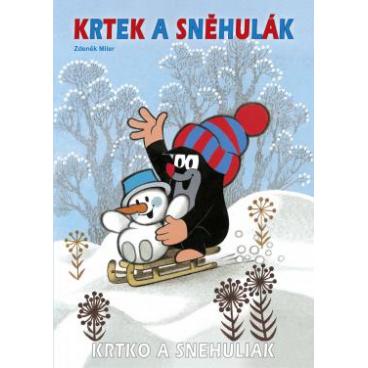 Rappa Omalovánka A4 Krtek a sněhulák