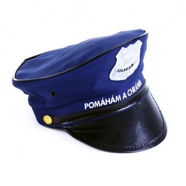 Rappa karnevalová čepice policejní dětská