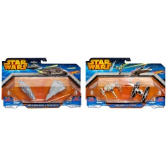 Hot Wheels HW STAR WARS 2KS HVIEZDNA LOĎ ASST