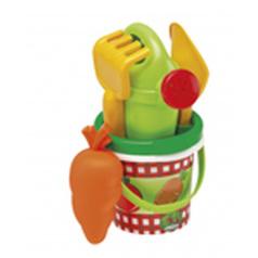 Ecoiffier Kyblíček Zelenina s konvičkou a přísl.