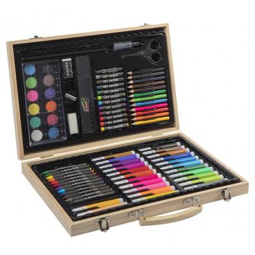 Mac Toys Umělecký kufřík, 86 ks