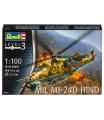Revell Plastic ModelKit vrtulník 04951 - Mil Mi-24D Hind (1:100)