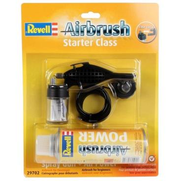 Revell 29702 Airbrush Spray Gun 29702 - starter class - stříkací pistole + Airbrush Power