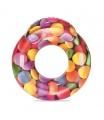 Bestway Nafukovací sedačka Candy s držadly, 118x117cm