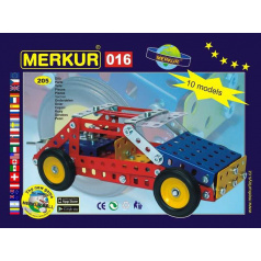 Merkur 016 Buggy, 205 dílů, 10 modelů