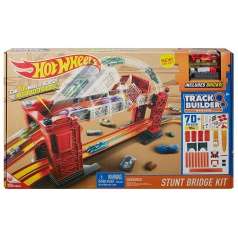 Hot Wheels DWW97 TRACK BUILDER PADACÍ MOST