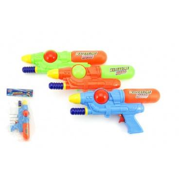 Teddies Vodní pistole 28cm plast asst 3 barvy
