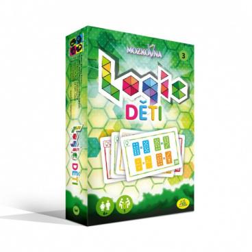 ALBI společenská hra Mozkovna Logic 3 - pro děti