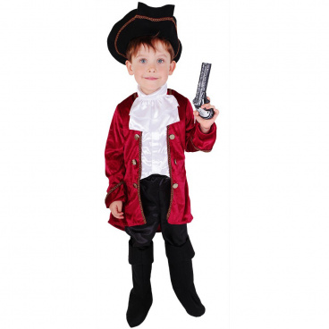 Rappa Dětský kostým kapitán Hook (M)