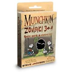 ADC Blackfire Entertainment ADC BlackFire hra Munchkin Zombíci 3+4