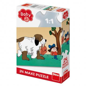Dino dětské puzzle Maxipes Fík 24D