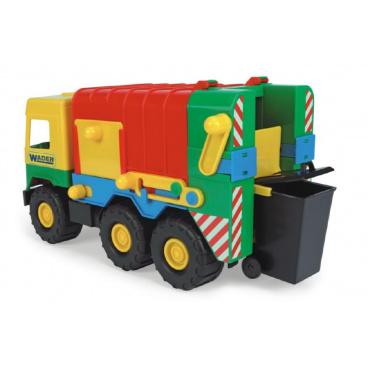 WADER Auto middle Truck popelář plast 41cm v sáčku