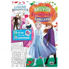 Jiri Models Cvičebnice se samolepkami A4 FROZEN 2 - Ledové království