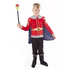 Dětský karnevalový kostým král vel. M