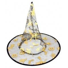 Karnevalový klobouk čarodějnický dětský