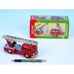 Auto Mercedes 335 hasiči kov 17cm 1:43 v krabičce Kovap