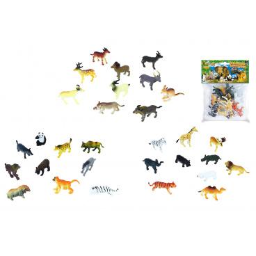 rappa hračky zvířata divoká v sáčku 10ks