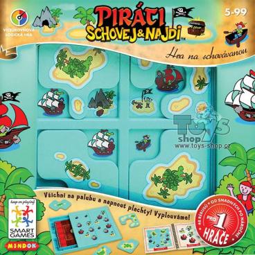 hra Mindok Smart - Piráti schovej a najdi