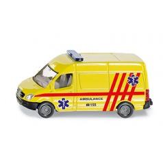SIKU česká verze - ambulance dodávka