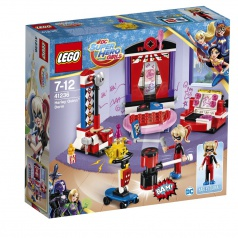 LEGO® Super Hero Girls  41236 Studentská kolej Harley Quinn