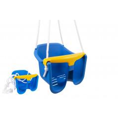 Chemoplast Hojdačka Baby modrá plast 33x30x28cm nosnosť 25kg v sieťke 12m +