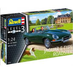 Revell Plastic ModelKit auto 07687 - Jaguar E-Type Roadster (1:24)