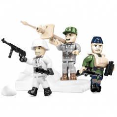 Cobi Figurky s doplňky German Elite Infantry, 30 k
