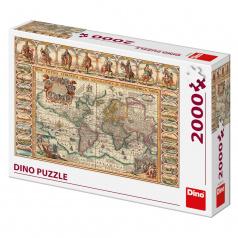 Dino Historická mapa světa 2000D