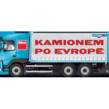 Dino Společenská hra Kamionem po Evropě hra